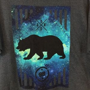 Tony Hawk Galaxy Bear Graphic T-Shirt
